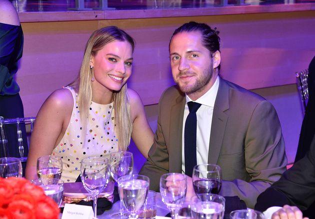 Margot Robbie and her husband Tom