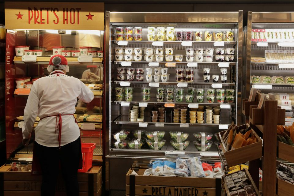 Pret is low on plastic-free