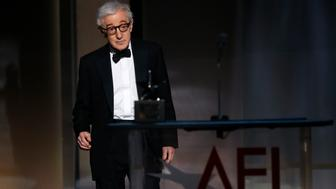 2017 American Film Institute Life Achievement Award  – Show – Los Angeles, California, U.S., 08/06/2017 - Director Woody Allen arrives on stage. REUTERS/Mario Anzuoni