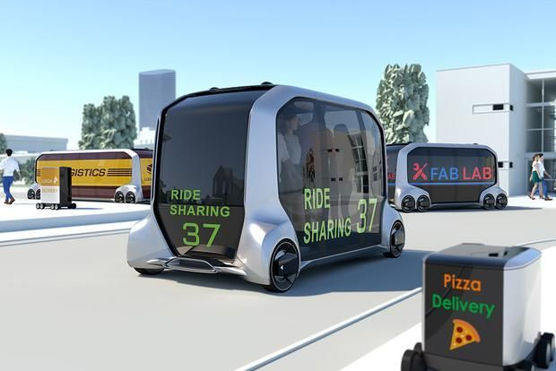 Toyota's e-Palette could be the delivery vehicle of the future.