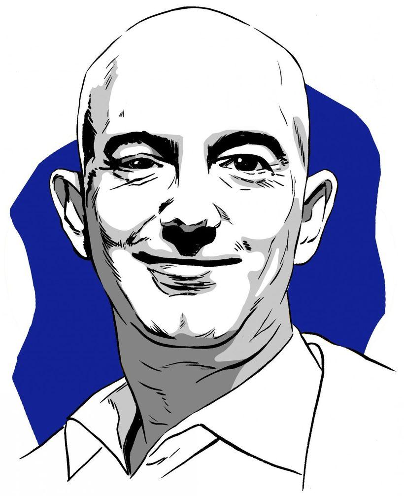 Jeff Bezos - Chief Executive Officer of Amazon. Net worth: US$98.8 billion (January 2018).