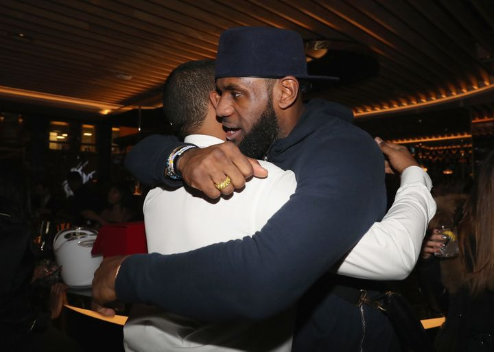 Chubbs and LeBron James.