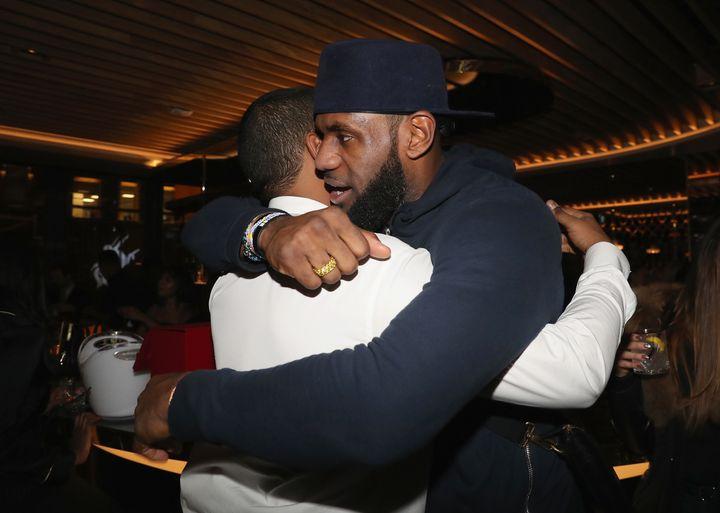Chubbs and LeBron James.