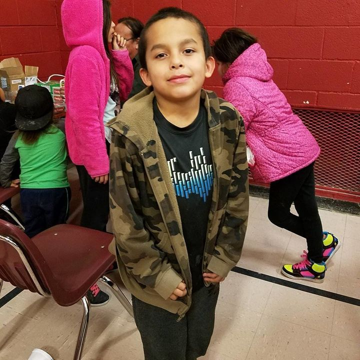 Attendance is near-perfect during the winter at the Wounded Knee District School on the Pine Ridge Indian Reservation when lo