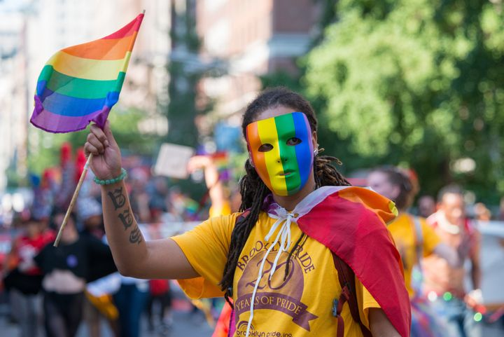 The 46th Annual Heritage of Pride March in New York City paid special tribute to the victims of the Orlando Pulse nightclub s