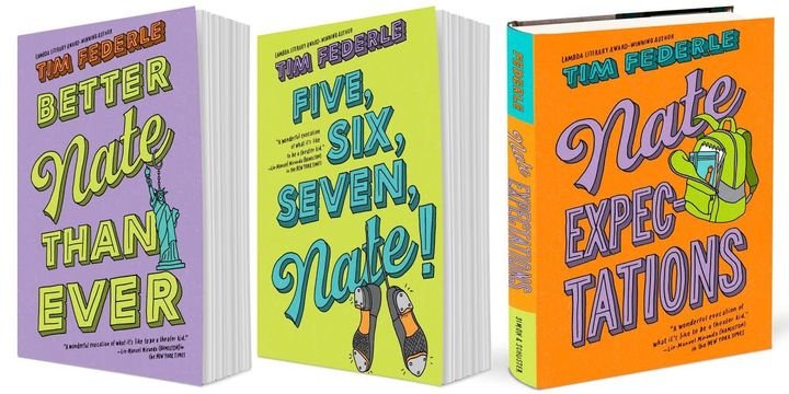 The new printings of&nbsp;<i>Better Nate Than Ever&nbsp;</i>and&nbsp;<i>Five, Six, Seven, Nate!</i>&nbsp;will receive covers