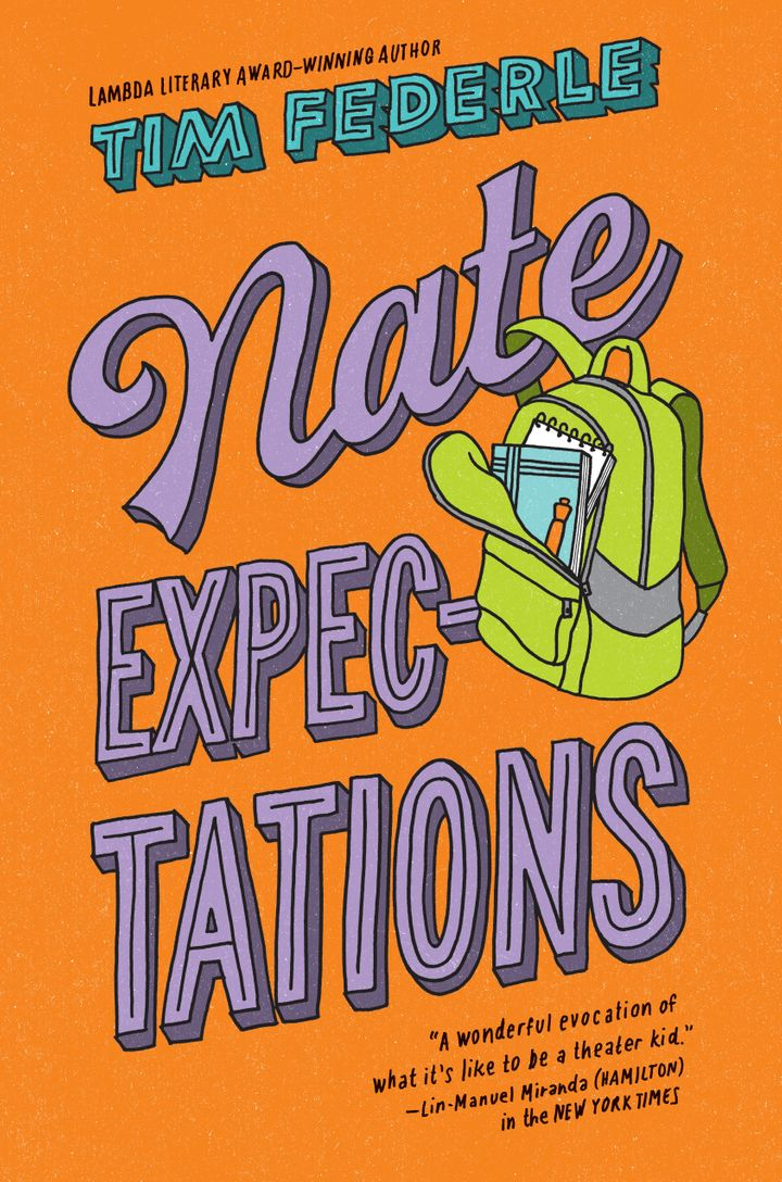 Federle's new middle-grade novel,&nbsp;<i>Nate Expectations,&nbsp;</i>is due out Sept. 18.&nbsp;