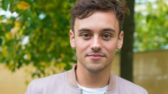 Cheltenham Gloucestershire.Cheltenham Literature Festival....Tom Daley, Champion diver, launches his, book Toms Daily Plan, He shares his secrets of on staying strong and positive living.PHOTOGRAPH BY Charlie Bryan / Barcroft Media  London-T:+44 207 033 1031 E:hello@barcroftmedia.com - New York-T:+1 212 796 2458 E:hello@barcroftusa.com - New Delhi-T:+91 11 4053 2429 E:hello@barcroftindia.com www.barcroftimages.comPHOTOGRAPH BY Charlie Bryan / Barcroft Media (Photo credit should read Charlie Bryan / Barcroft Media / Barcroft Media via Getty Images)