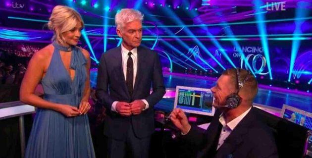 Matt Chapman has left 'Dancing On Ice' after one