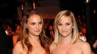 LOS ANGELES, CA - JUNE 20: (NO TABLOIDS) Natalie Portman and Reese Witherspoon attend 2013 Los Angeles Dance Project Benefit Gala  on June 20, 2013 in Los Angeles, California. (Photo by Stefanie Keenan/WireImage)