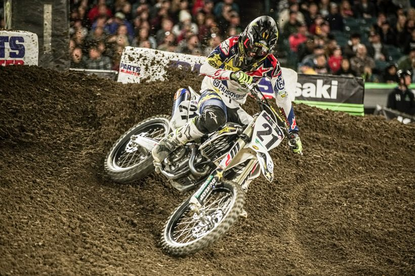 Jason Anderson is a true contender this season and took second at the opener.