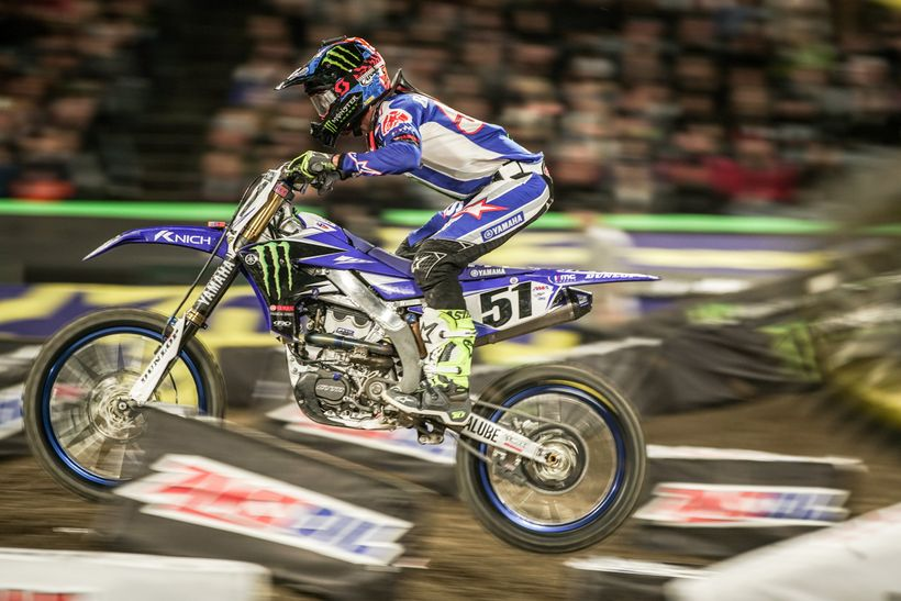 Justin Barcia is in a new chapter of his career and fighting his way back to the top.