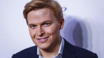Television personality Ronan Farrow arrives for the opening night of the Women in the World summit in New York April 22, 2015. REUTERS/Lucas Jackson