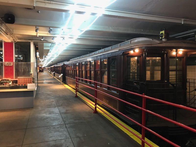 A century-old Brooklyn trolley car
