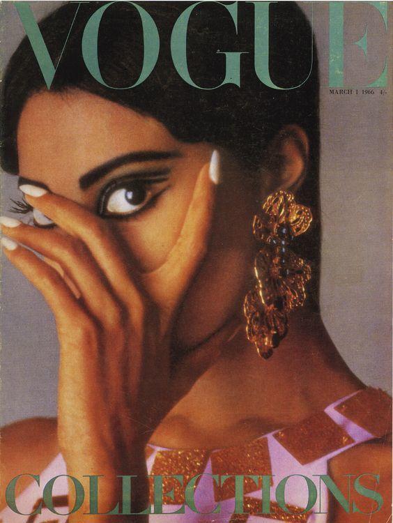 Donyale Luna, British Vogue, 1966