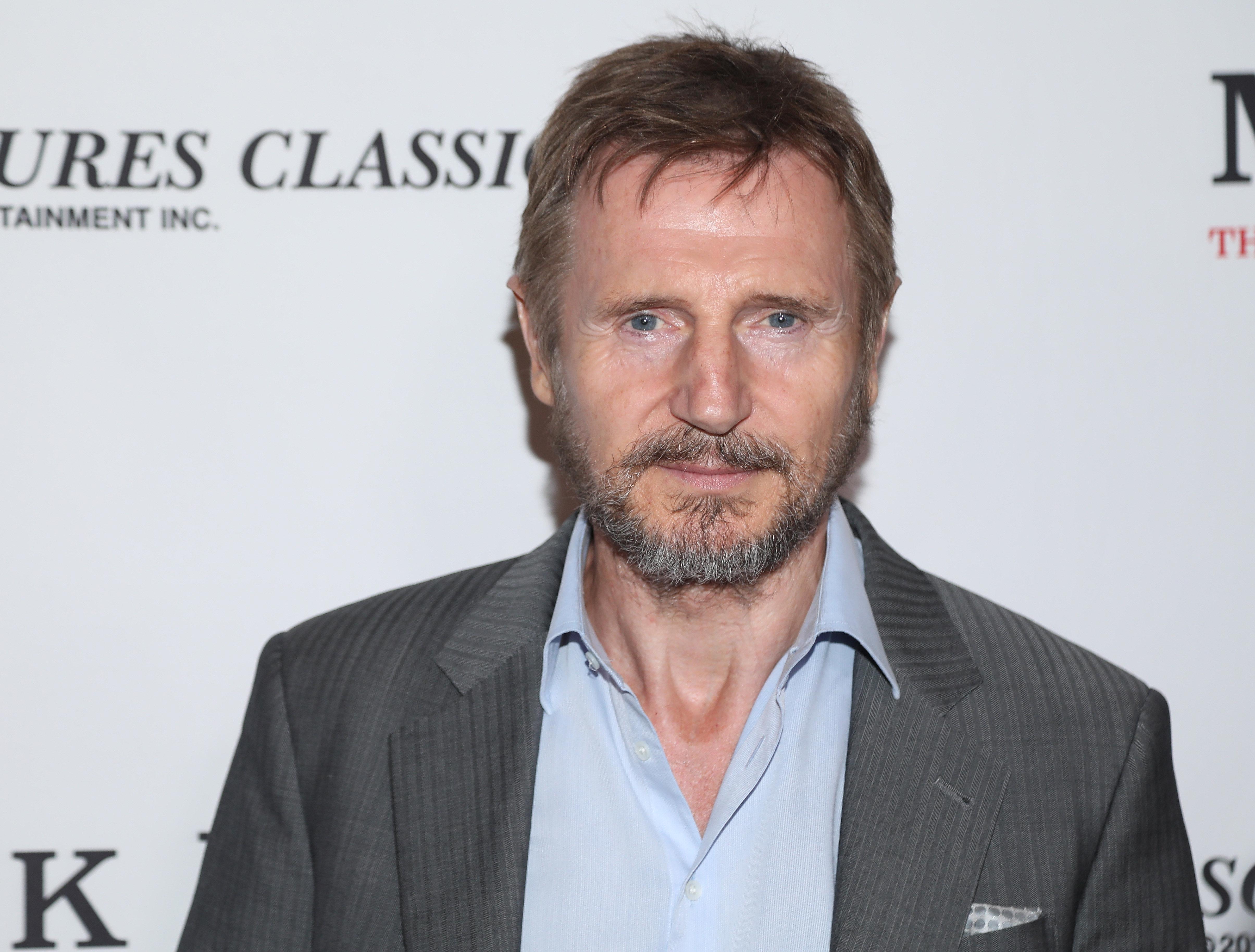 La contradicción de Liam Neeson al hablar sobre la brecha