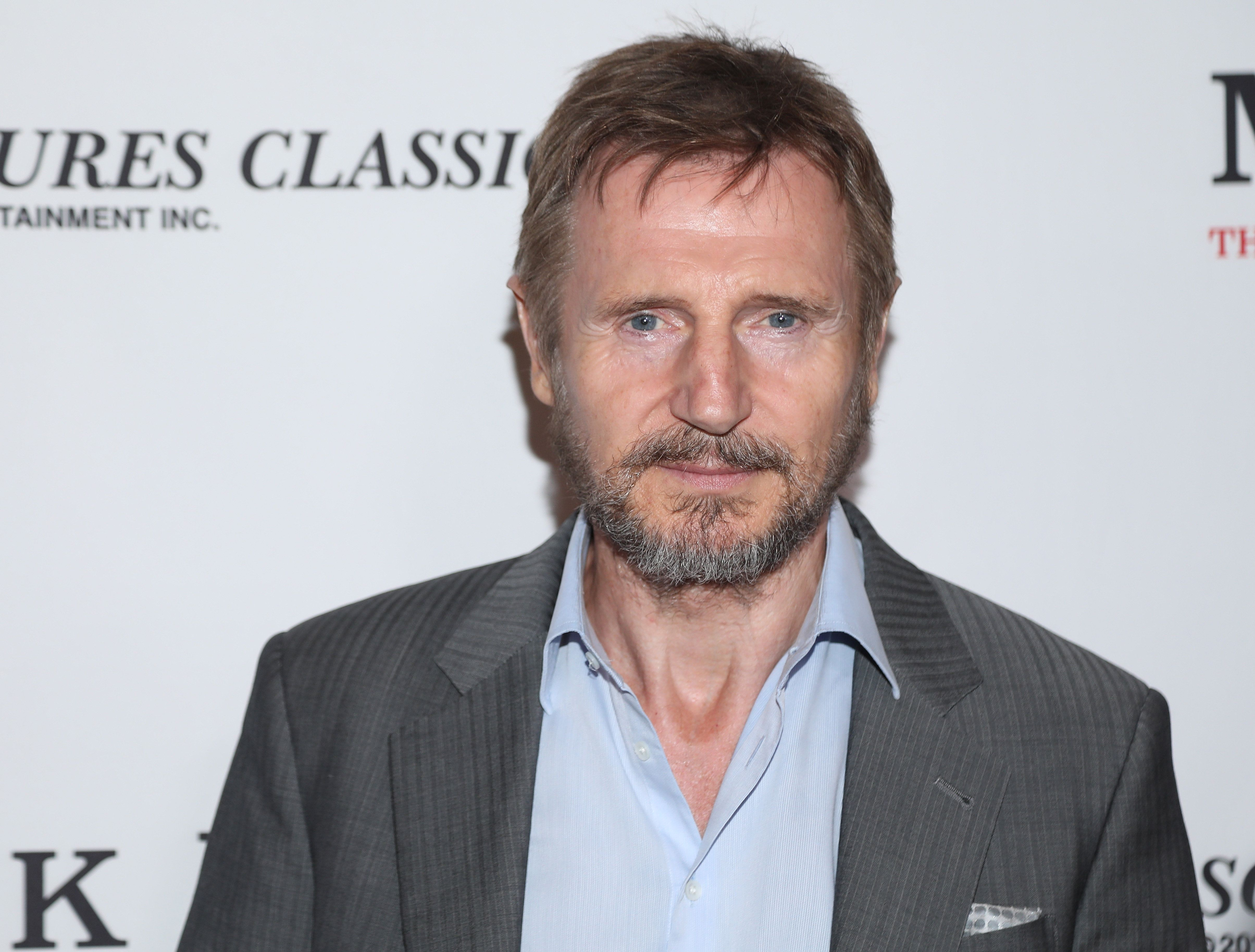 BEVERLY HILLS, CA - SEPTEMBER 26:  Actor Liam Neeson attends the premiere of Sony Pictures Classics' 'Mark Felt: The Man Who Brought Down The White House' at Writers Guild Theater on September 26, 2017 in Beverly Hills, California.  (Photo by Jerritt Clark/Getty Images)