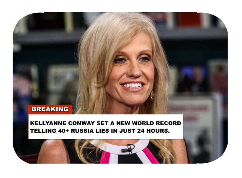 Kellyanne Conway has unique and specific knowledge of secret Team Trump Russia meetings...But lies to protect President Trump