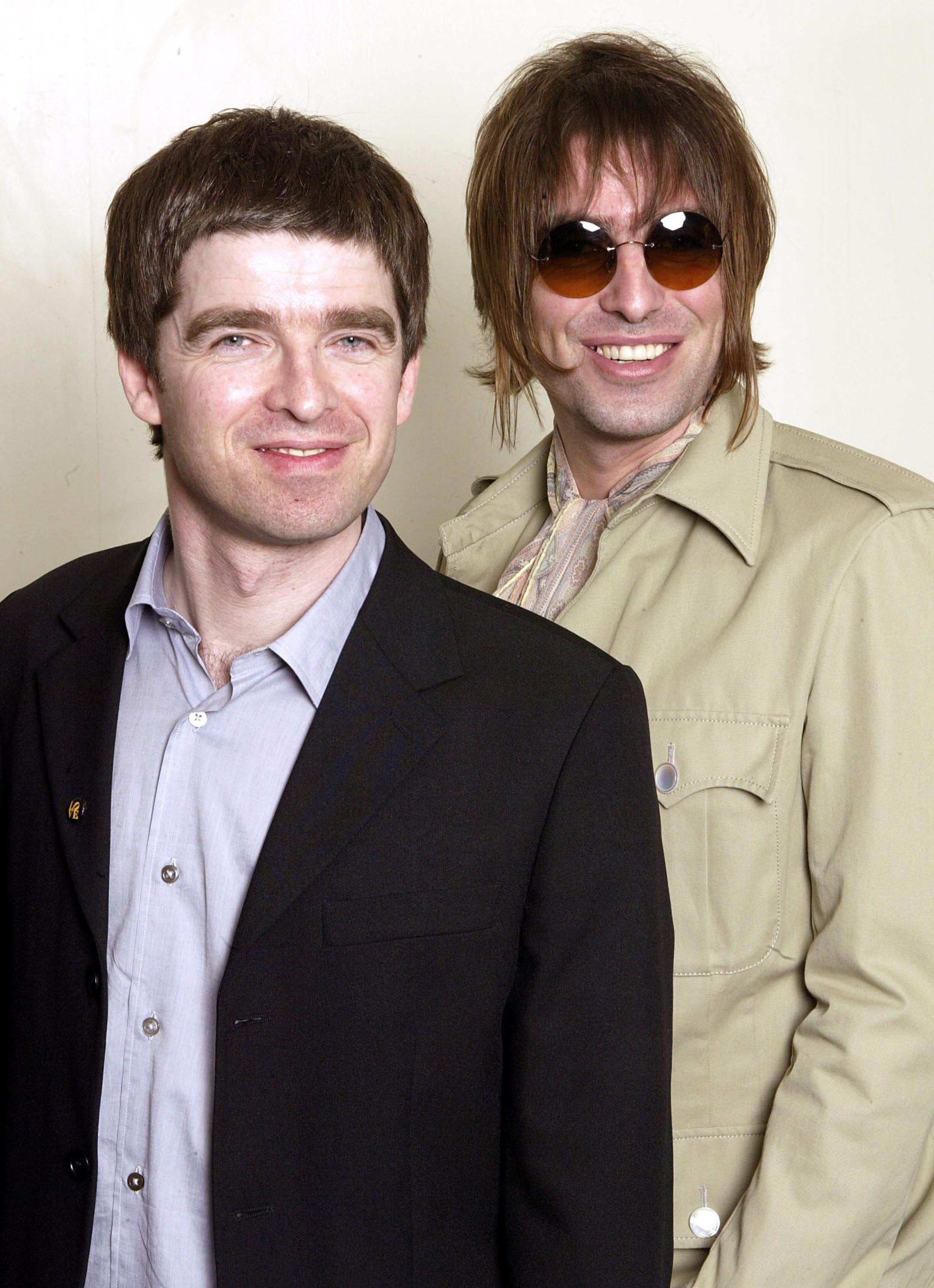 Dave Hogan Via Getty Images Noel And Liam Gallagher In 2003