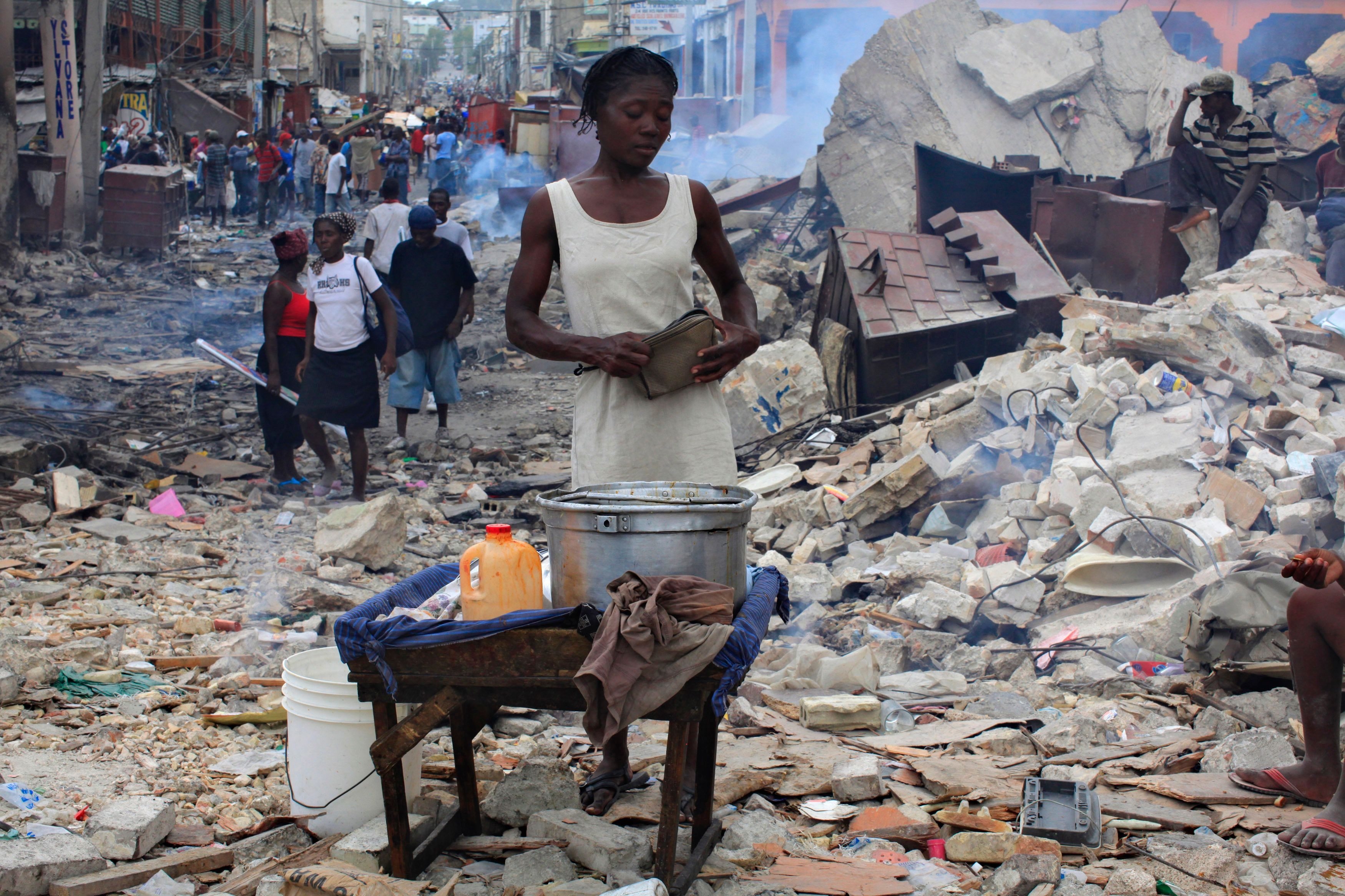 Trump's Haiti Slap Came On Eve Of Earthquake Anniversary