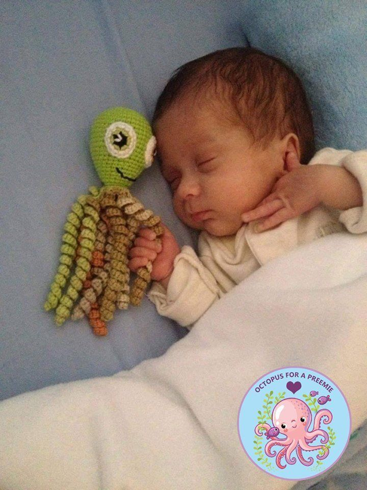How Strangers Crocheting Octopuses Are Comforting Premature Babies And New