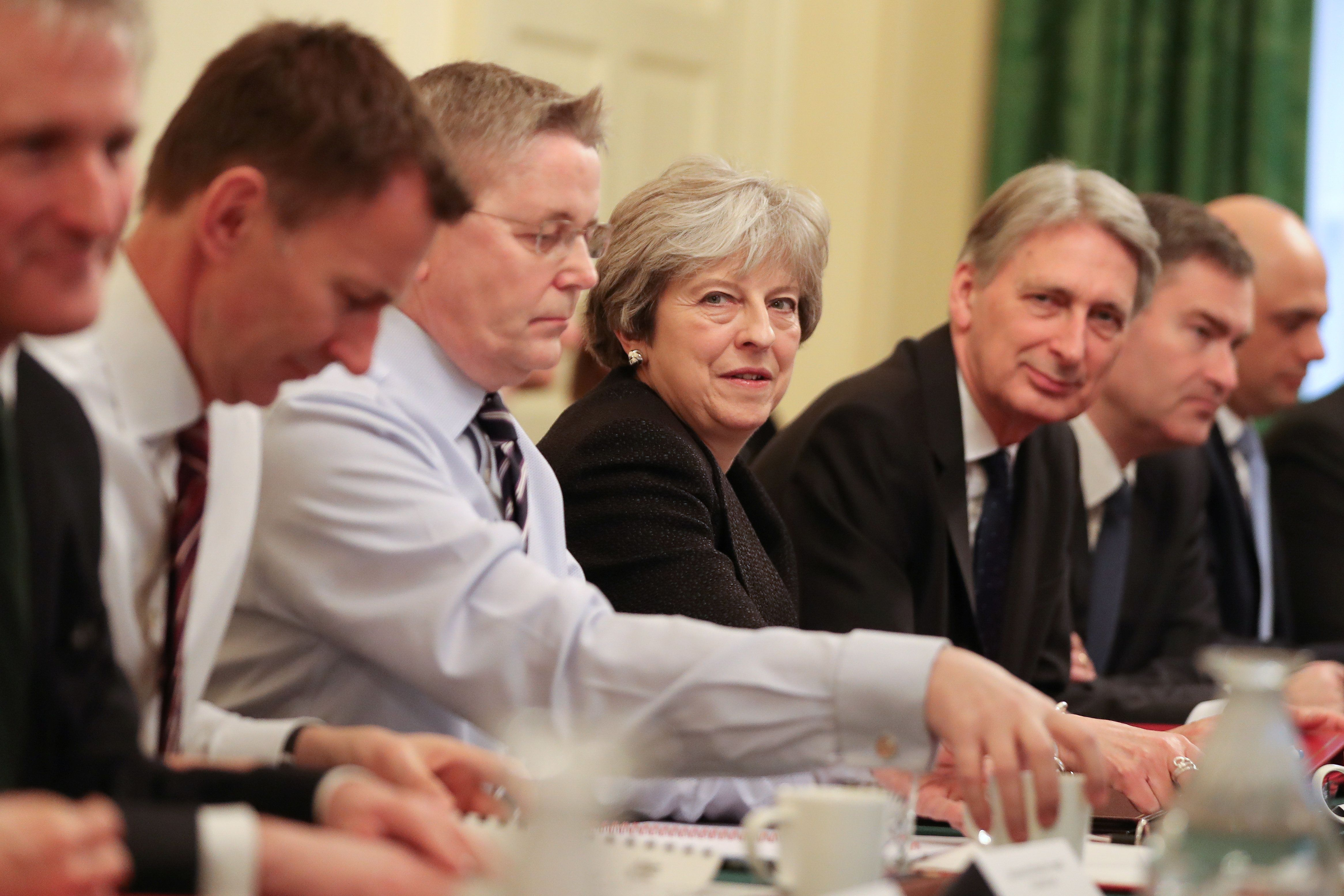 UK Prime Minister Theresa May makes changes to her cabinet