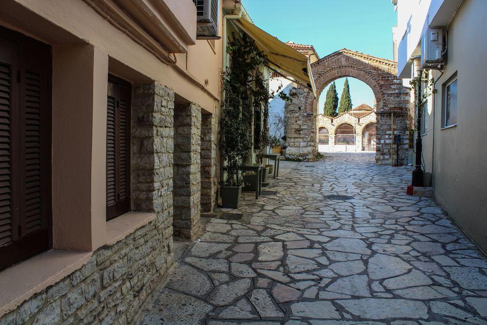 Η πύλη του μεσαιωνικού...