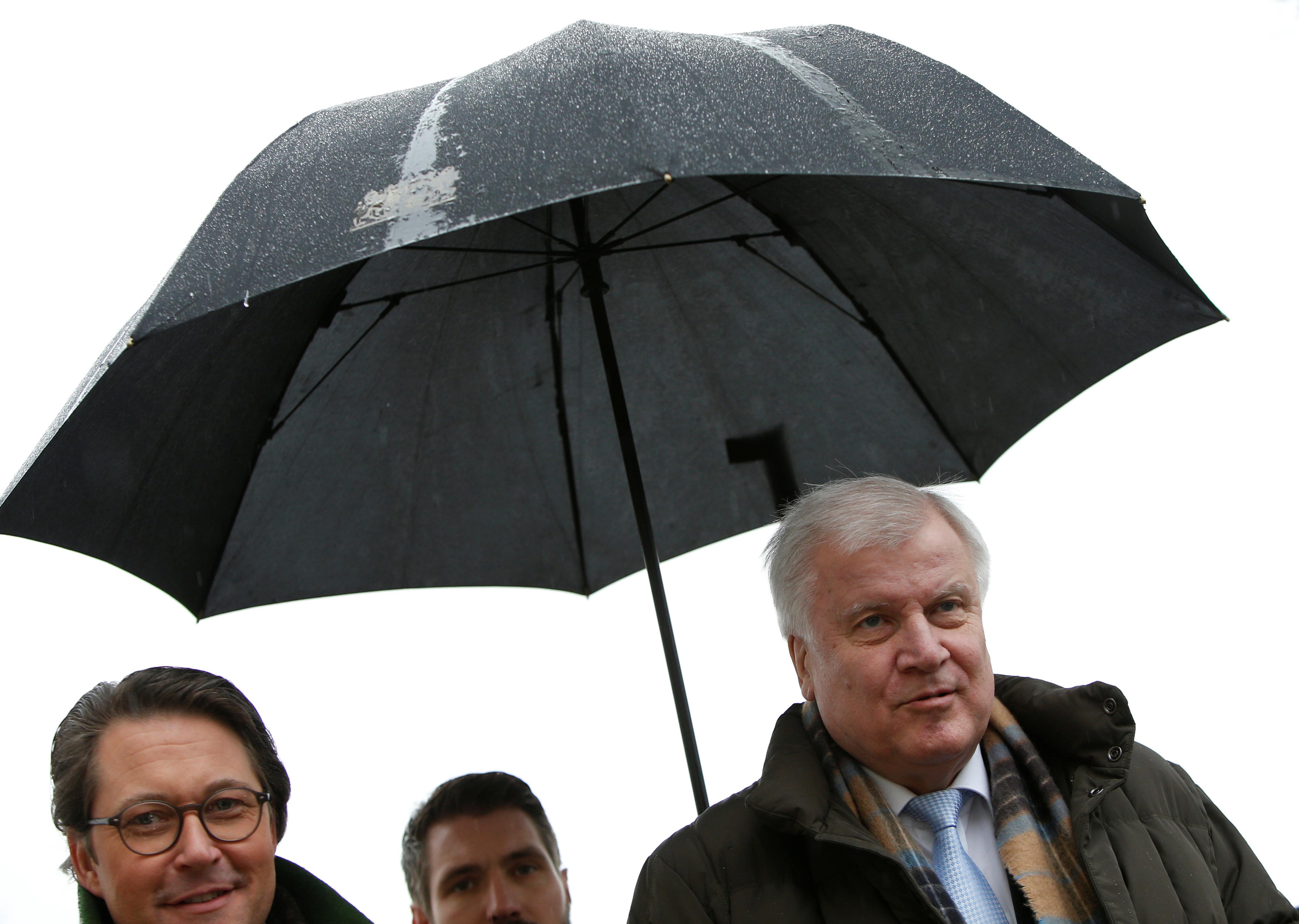 Andi und Horst: Schirmherren der