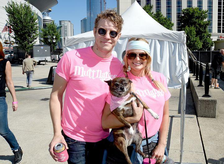 Anderson East and Miranda Lambert in Nashville.