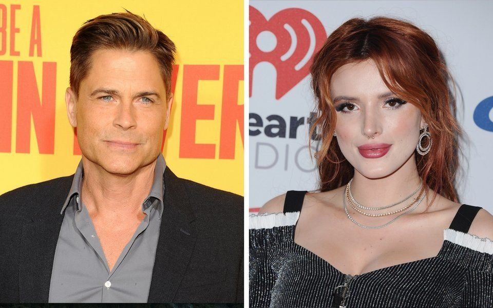 Rob Lowe and Bella Thorne.