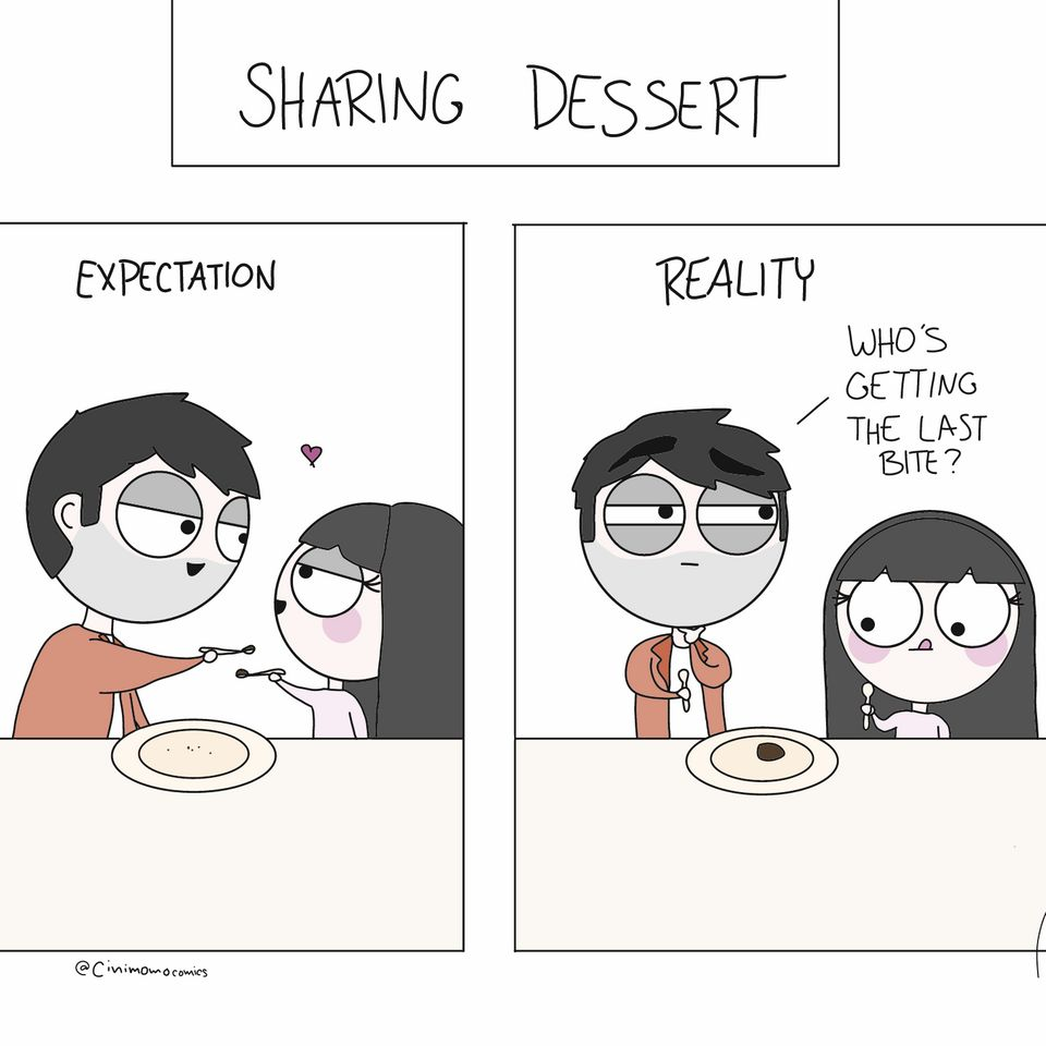 11 Comics That Capture Cute Quirky Moments All Couples Can Relate To Huffpost Life