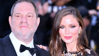 ANKARA, TURKEY - (ARCHIVE) : A file photo dated May 22, 2015 shows US producer Harvey Weinstein (L) and his wife Georgina Chapman (R) attending screening of the film 'The Little Prince' at the 68th international film festival in Cannes, France. Harvey Weinstein has been excluded from his production company over the sexual harassment allegations. (Photo by Mustafa Yalcin/Anadolu Agency/Getty Images)