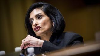 Seema Verma, Centers for Medicare and Medicaid Services administrator nominee for U.S. President Donald Trump, speaks during a Senate Finance Committee confirmation hearing in Washington, D.C., U.S., on Thursday, Feb. 16, 2017. Verma, the businesswoman Trump selected to oversee Medicaid, the health care program for 74 million low-income Americans, has said the program is structurally flawed by policies that burden states and foster dependency among the poor. Photographer: Pete Marovich/Bloomberg via Getty Images