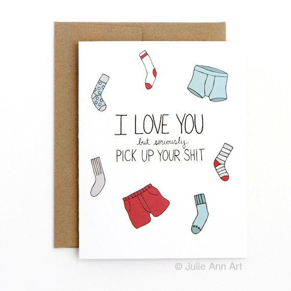 "<i>Buy it from <a href=""https://www.etsy.com/listing/262931196/funny-valentine-card-pick-up-your-sh-t?ref=shop_home_active_14"