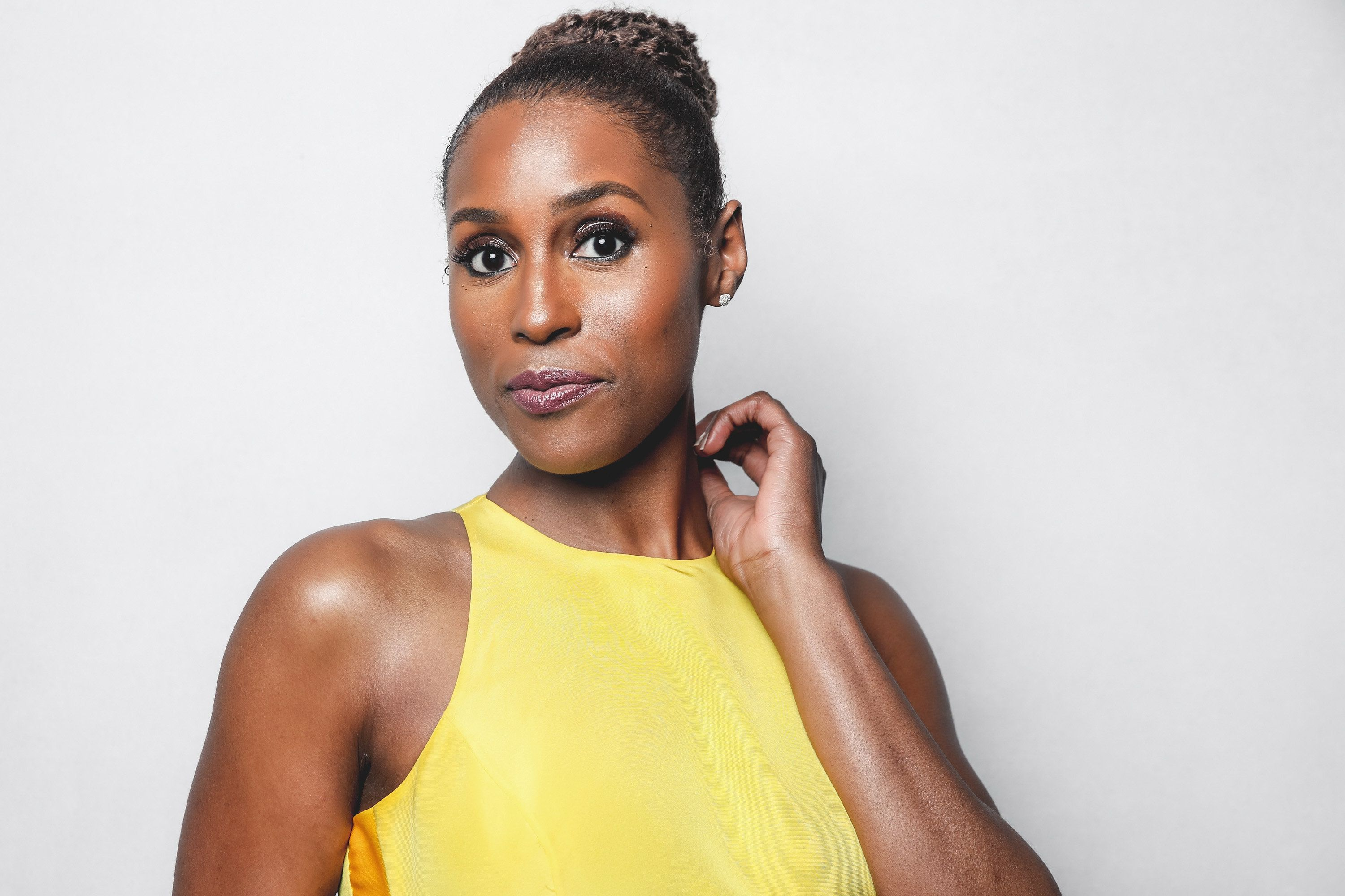 BEVERLY HILLS, CA - JANUARY 06:  Issa Rae poses for a portrait at the BAFTA Los Angeles Tea Party on January 6, 2018 in Beverly Hills, California.  (Photo by Rich Fury/Getty Images)