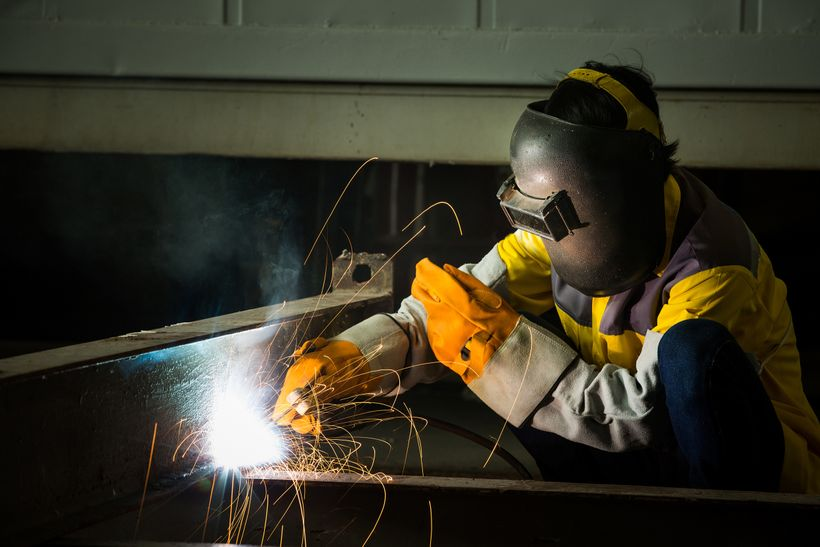 There's a severe shortage of skilled labor, from carpenters to steel fitters.