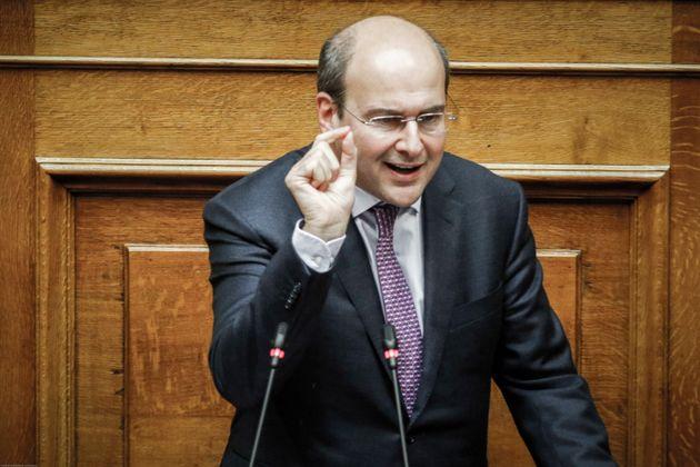 Χατζηδάκης:Συζήτηση για τα Σκόπια μόνο με μία καθαρή θέση από την