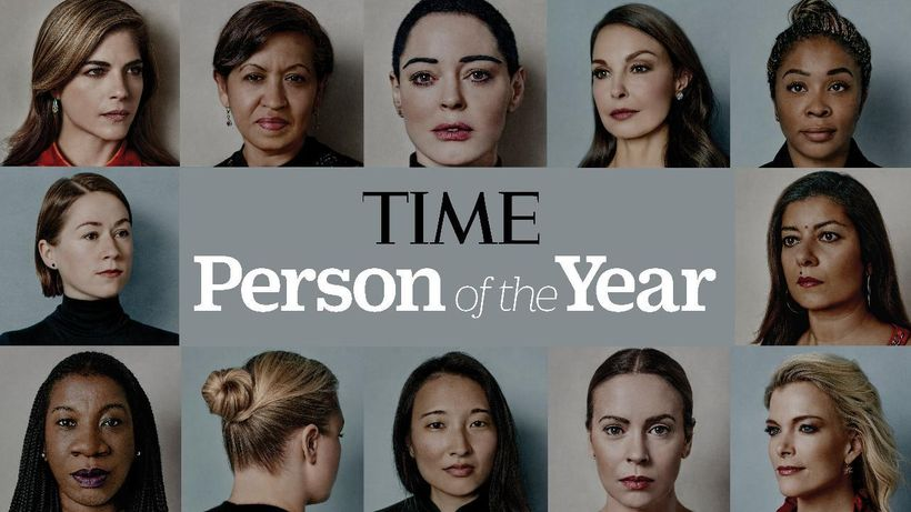 Cover of Time's 2017 Person of the Year isssue