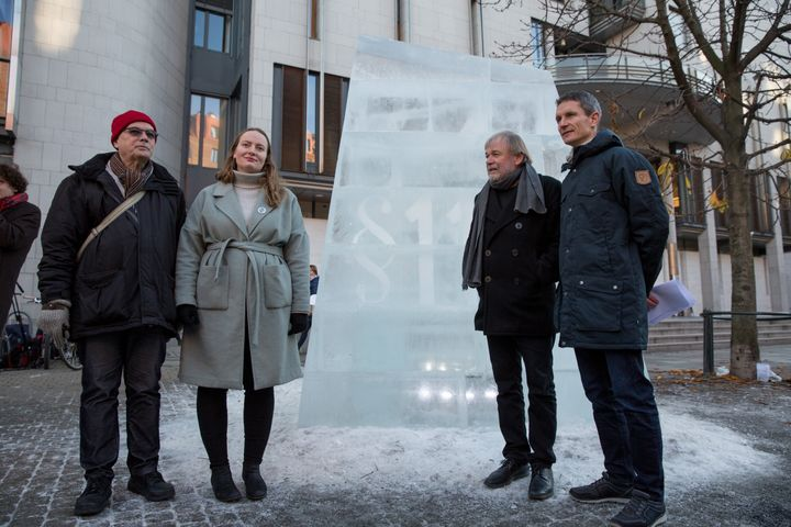The Oslo Court in Norway where a trial has been taking place after the Norwegian government was sued by climate activists.
