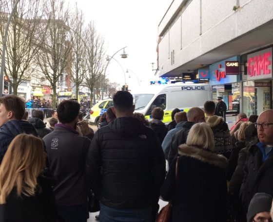 Aman has been arrested on suspicion of murderfollowing an attack on a woman at a TUI store...