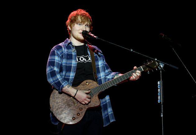 Ed Sheeran scooped four