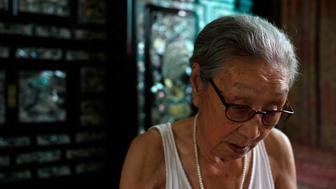 SEOUL, SOUTH KOREA - AUGUST 14:  Kim Bok-Dong, 91, is sitting in her room at Woorijip, a survivors' shelter in Yeonnam-dong on August 14, 2016 in Seoul, South Korea. In 1941 in Japanese-occupied Korea, Kim was drafted against her will as a sex slave to the 'comfort station' for Japanese military, when she was 15. The activists held a ceremony to mark the 25th anniversary of the first 'Comfort Women' testimony from Kim Hak-sun, former 'comfort woman', amid the talks between ministers of Japan and South Korea are in progress on the details how $9.9 million funds be spent for Reconciliation and Healing Foundation for the surviving 'Comfort Women'.  (Photo by Woohae Cho/Getty Images)