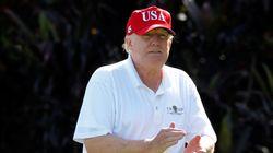 Donald Trump est resté sur le terrain de golf pendant que Hawaï