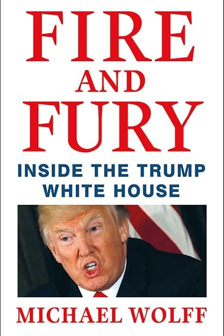 """<em>Screen shot of Michael Wolff's """"Fire and Fury: Inside the Trump White House""""</em>"""