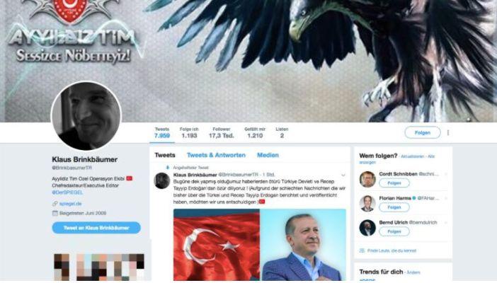 Twitter-Profil von