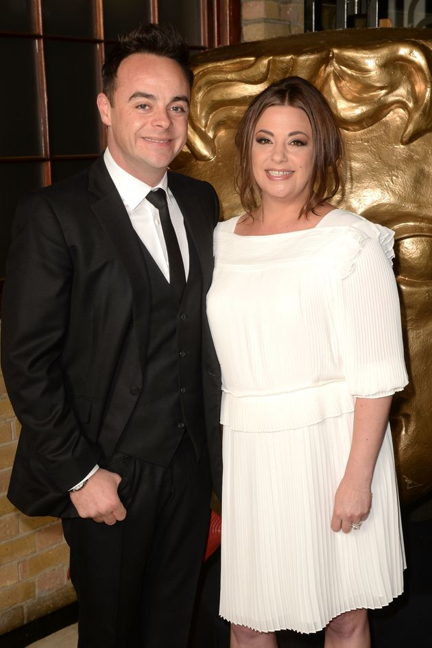 Ant McPartlin and Lisa Armstrong have