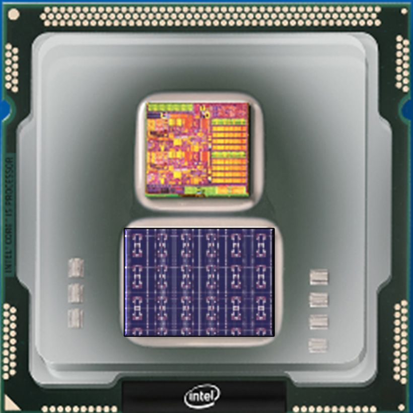 Intel's Loihi neurotrophic chip.
