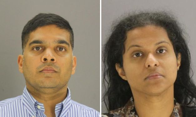 Wesley Mathews, 37, and Sini Mathews, 35, both face charges related to their three-year-old adopted daughter, Sherin.
