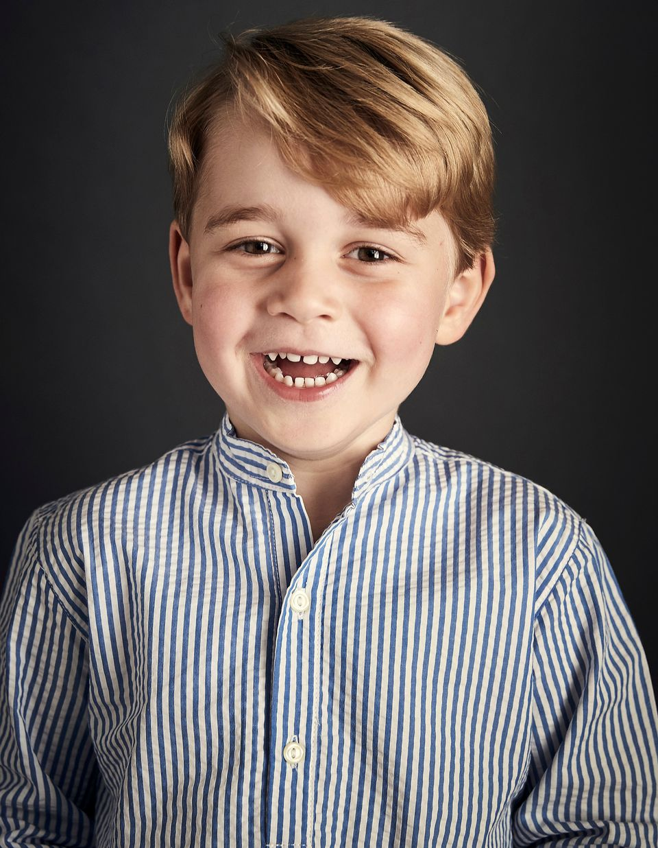 Chris Jackson was chosen by Kensington Palace to take Prince George's official portrait for his fourth