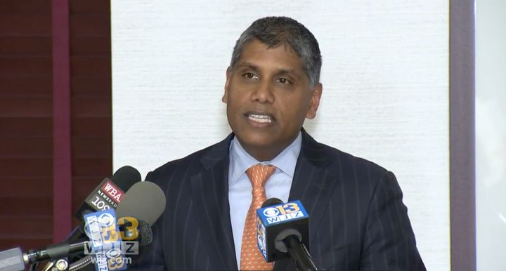 Dr. Mohan Suntha, the hospital's president and CEO, apologized for the incident at a press conference.